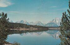 Jackson Lake, Wyoming Postcard