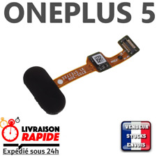 ONEPLUS 5 Bouton d'accueil capteur d'empreinte Home Button flex fingerprint NOIR