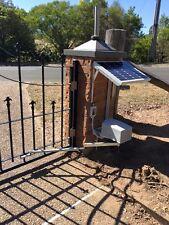 DACE DURASWING SOLAR POWERED SWING GATE OPENER - 40 WATT SOLAR PANEL
