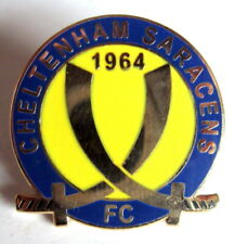 ENGLAND - FOOTBALL CLUB CHELTENHAM SARACENS 1964 PIN 1
