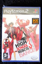 PS2 : HIGH SCHOOL MUSICAL 3 : SENIOR YEAR DANCE ! - Nuovo, sigillato, ITA !