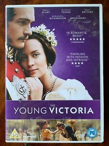 Young Victoria DVD 2008 British Royal Queen Biopic Movie Drama w/ Emily Blunt