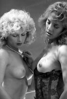 8x10 Print Sexy Model Pin Up Classic 1979 Garter Nudes #2324