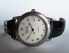 Men's AUGUSTE REYMOND Automatic Watch. 36mm Paper Pattern Dial. Date Swiss.