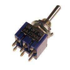 Miyama ms-500h Kipp Interruttore 2 pin un-da-un interruttore 2xum 6a 125v AC 090210