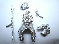 WOOD ELVES Mounted Lord (metal)
