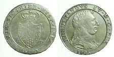 pci0290) Napoli regno Ferdinando IV grana 120 piastra 1805