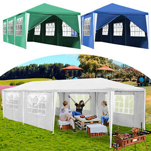 Pavillon Zelt garten Festzelt Partyzelt 3x3-3x9m Stabiles hochwertiges