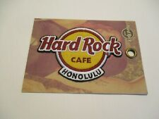 HARD ROCK CAFE PATCH HONOLULU IRON ON SOUVENIR COLLECTIBLE