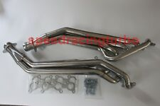 Long Tube Exhaust Header Fits 11-17 Ford Mustang 5.0L V8 Stainless Steel GT.Pair