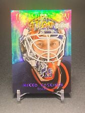 2020-21 Metal Universe Hockey Parallels, Rookies, All-Stars and Inserts
