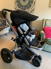 Quinny buzz 3 travel system Black Edition Maxi Cosi Car Seat Carrycot And Extras