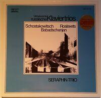 Shostakovich Roslavets Babadschanjan Klavier Piano Trios Seraphin SIG DMM 013-00