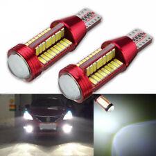 2x T10 501 194 W5W 4014 LED 78-SMD Car Canbus Error Free Wedge Light Bulb Lamp
