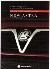 Vauxhall Astra Mk3 1994-95 UK Market Salesmans & Fleet Sales Brochure
