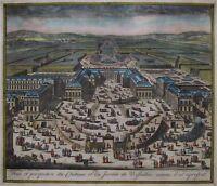 Veue et perspective du Château et du Jardin de Versailles - Allard - 1690 - Rare