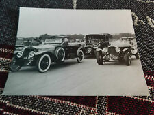 8.5 x 6.5 PRESS PHOTO - S101 BENTLEY & OTHERS ON TRACK PARADE - GOODWOOD?
