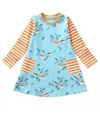 Unbranded Spring Long Sleeve Dresses (2-16 Years) for Girls