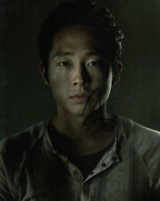 Steven Yeun The Walking Dead signed 10x8 photo Online COA [15093] In Person