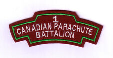 WWII - Title I CANADIAN PARA Bn (Reproduction)