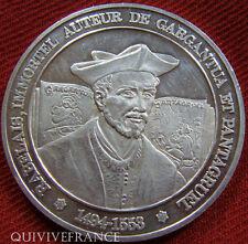 MED2676 - MEDAILLE RABELAIS HISTOIRE DE FRANCE - SILVER MEDAL