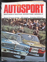 AUTOSPORT MAGAZINE 14 FEB 1969 - SCIMITAR GTE TEST, AMON TASMAN CHAMP, G5 SURVEY