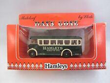 LLEDO  Days-Gone  Half Cab Singledeck Bus  Green / Cream 17003 Hamleys  NIB  (1)