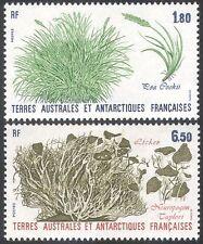 FSAT/TAAF 1987 Lichen/Grass/Plants/Nature/Flora 2v set  (n23153)