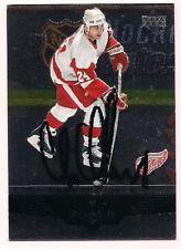 2004/5 Upper Deck Black Diamond Auto HOF Chris Chelios Detroit Red Wings