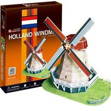 CUBIC FUN C089 3D-PUZZLE HOLLAND WINDMILL - WORLD GREAT ARCHITECTURE NEU UND OVP