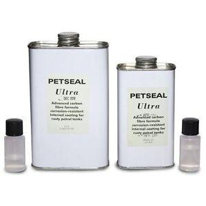 Petseal Ultra 250ml Motorcycle Petrol / Fuel Tank Sealant Sealer Repair