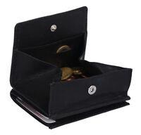 Wiener Schachtel Ausweisformat LEAS in Echt-Leder, schwarz