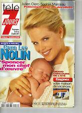 GENA LEE NOLIN BAYWATCH French Tele 7 Jours Magazine 7/97 SOPHIE MARCEAU