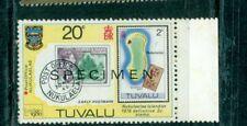Tuvalu 1980 International Stamp Exhibition London 20c  SPECIMEN MNH