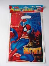 8 x SPIDERMAN BIRTHDAY PARTY LOOT LOLLY BAGS