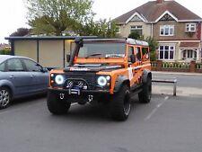 Land Rover Defender Led Light Bar 300 Watt 52'' White & Amber Warning Recovery