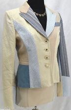St. John Cotton Blend Regular S Suits & Blazers for Women