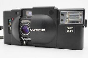 [Near MINT] OLYMPUS XA 35mm Rangefinder Film Camera w/ A11 Flash From Japan