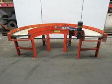 Emi Plastics 18 Wide 180 Curve Slider Bed Flat Belt Conveyor 115v 0 29 Fpm