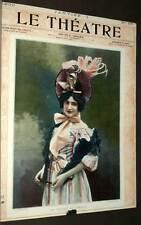 la Revue LE THEATRE Deuxieme année année premier semestre 1900, par GOUPIL