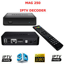 MAG250 DECODER IPTV HDTV 1080P HDMI STREAMING TV HD BOX MEDIA PLAYER MAG 250
