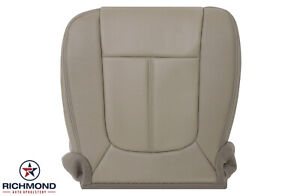 2011-2016 Ford F250 F350 Lariat -Driver Side Bottom PERF Leather Seat Cover Tan