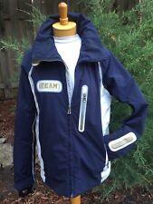 Bogner Ski Coat Winter Jacket US SZ 38 Blue Grey TEAM, Sport Snowboard Outerwear