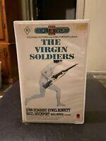 The Virgin Soldiers Ex-rental VHS HTF on DVD video tape 1969 World War 2 drama