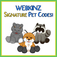 CHOOSE YOUR OWN Webkinz VIRTUAL SIGNATURE Pet - CODE ONLY - Fast Delivery!
