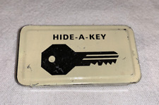 Vintage Hide-A-Key Automotive Spare Key Magnetic Holder