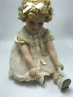 Danbury Mint Shirley Temple Toddler Doll Collection Little Miss Shirley Pink Eye