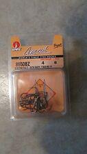 VMC Propak X-Heavy Treble Fishing Hooks - Size 4 - 8650BZ - Round  (B 29)