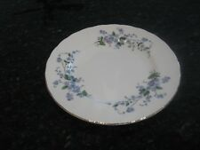 """4 PARAGON BY APPOINTMENT TO HER MAJESTRY THE QUEEN""""FORGET ME NOT""""SALAD PLATE 8"""""""