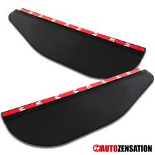 Flexible Side Mirror Rain Snow Sun Visor Block Shade Shield Board Pair